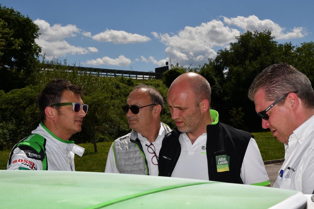 Guido D'amore (ITA) - Skoda Fabia R/R5, Car Racing