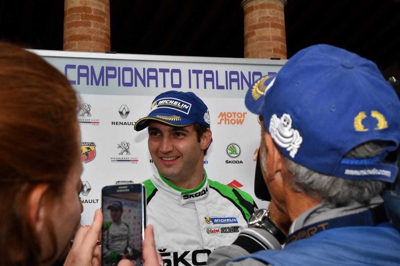 Umberto Scandola (ITA) - Skoda Fabia R/R5, Car Racing