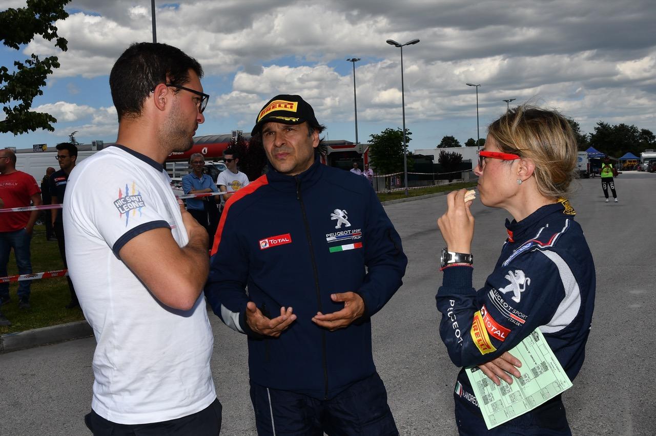 Paolo Andreucci (ITA) - Anna Andreussi (ITA) - Peugeot 208 R/R5
