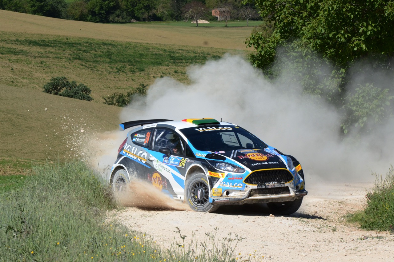 Wilkinson Bulacia (BOL) - Fernando Mussano (ARG) - Ford Fiesta R/R5, Giesse Promotion A.S.D.