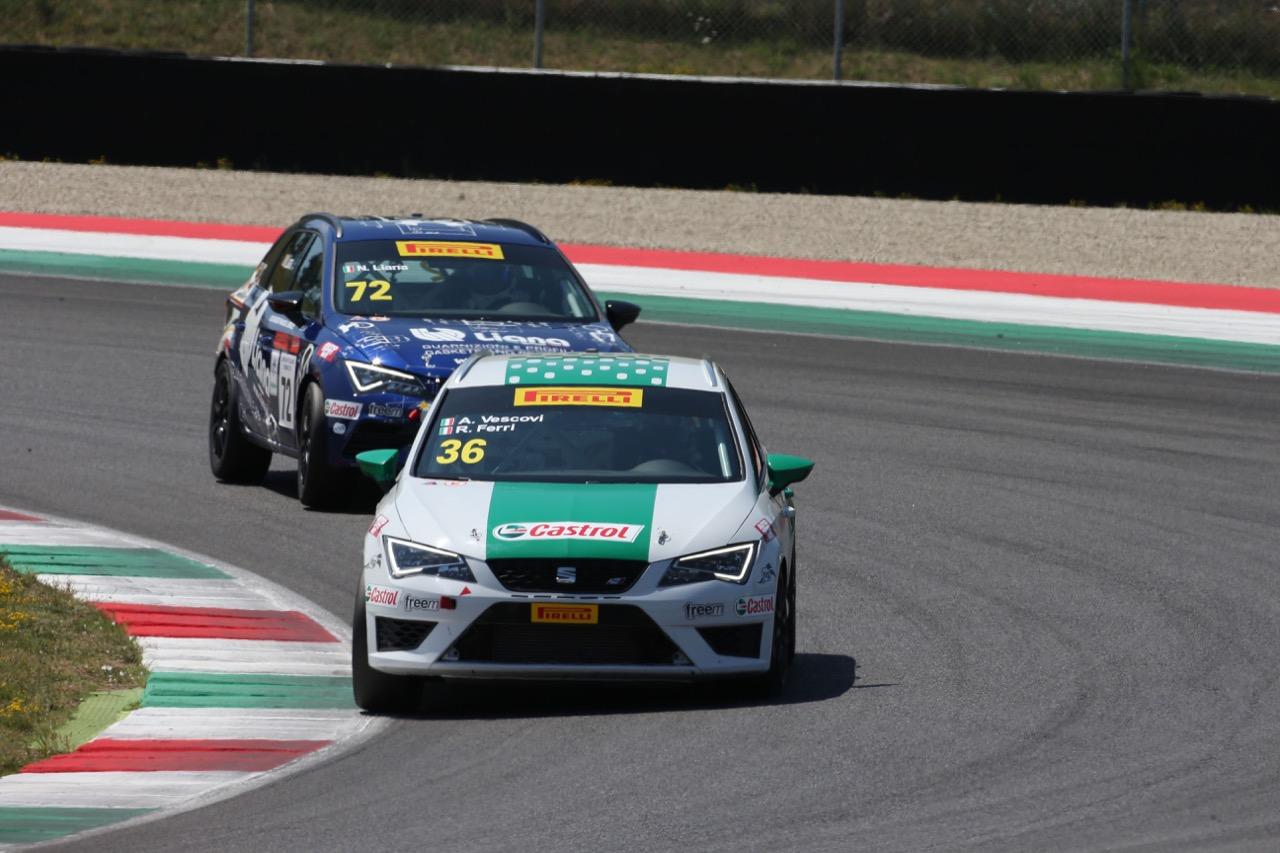 Alberto Vescovi (Seat Motor Sport Italia,Seat Leon Cupra ST-TCS2.0 #36)