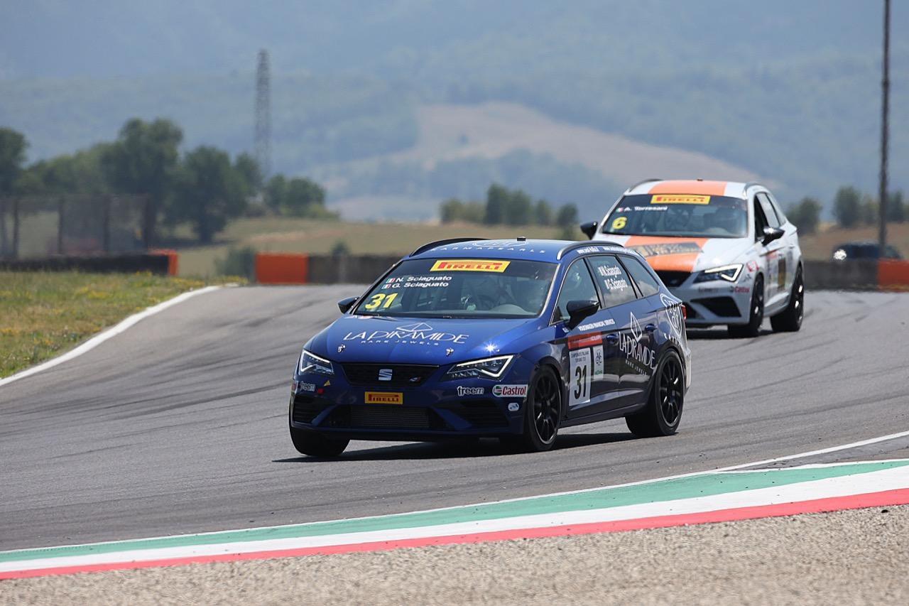 Sciaguato- Sciaguato (Seat Motor Sport Italia,Seat Leon Cupra ST-TCS2.0 #31)