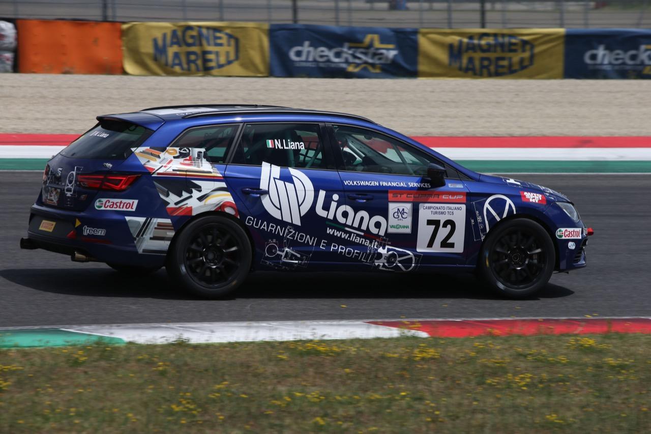 Nicolò Liana (Seat Motor Sport Italia,Seat Leon Cupra ST-TCS2.0 #72)