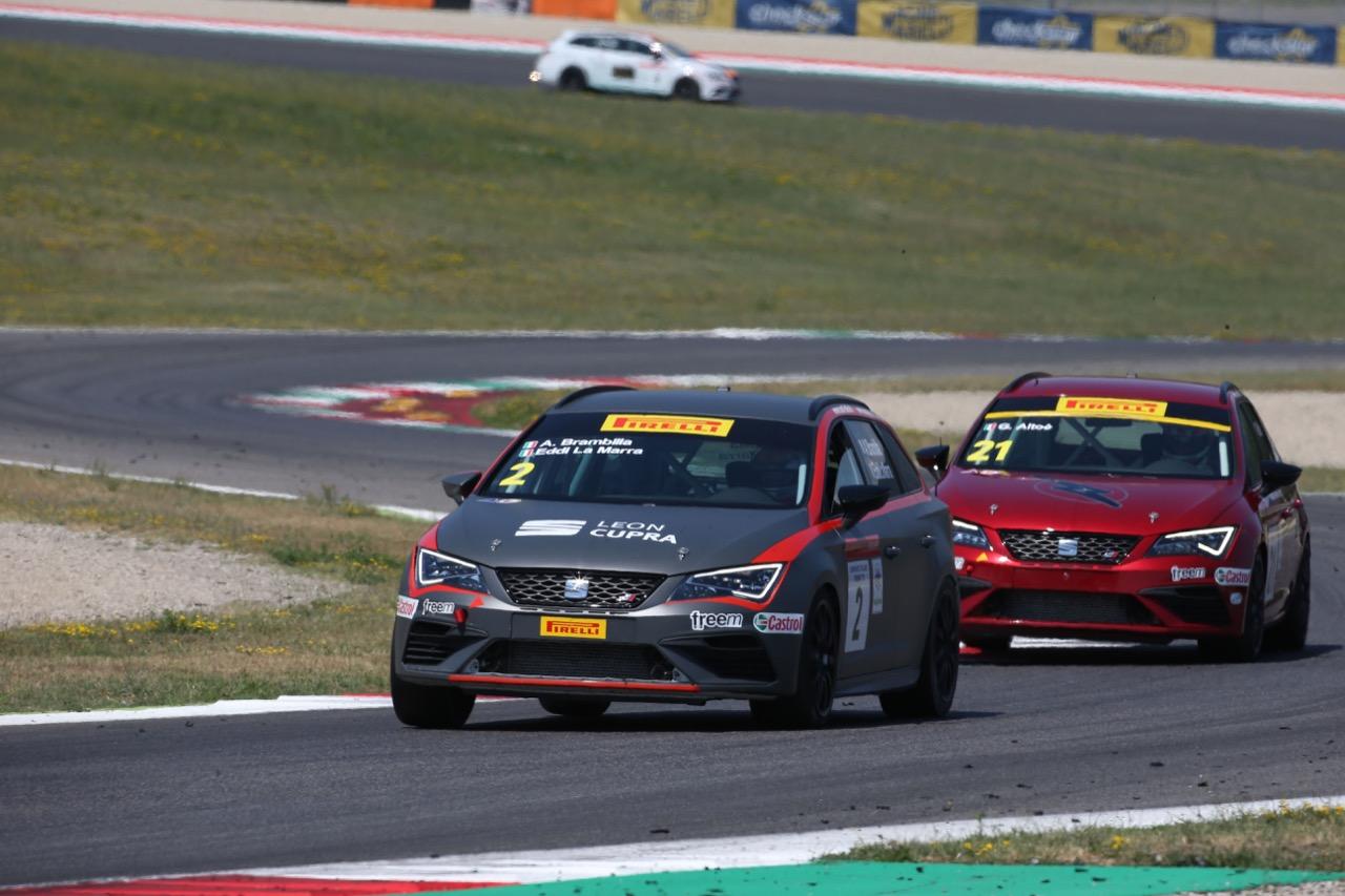 Brambilla-La Marra (Seat Motor Sport Italia,Seat Leon Cupra ST-TCS2.0 #2)