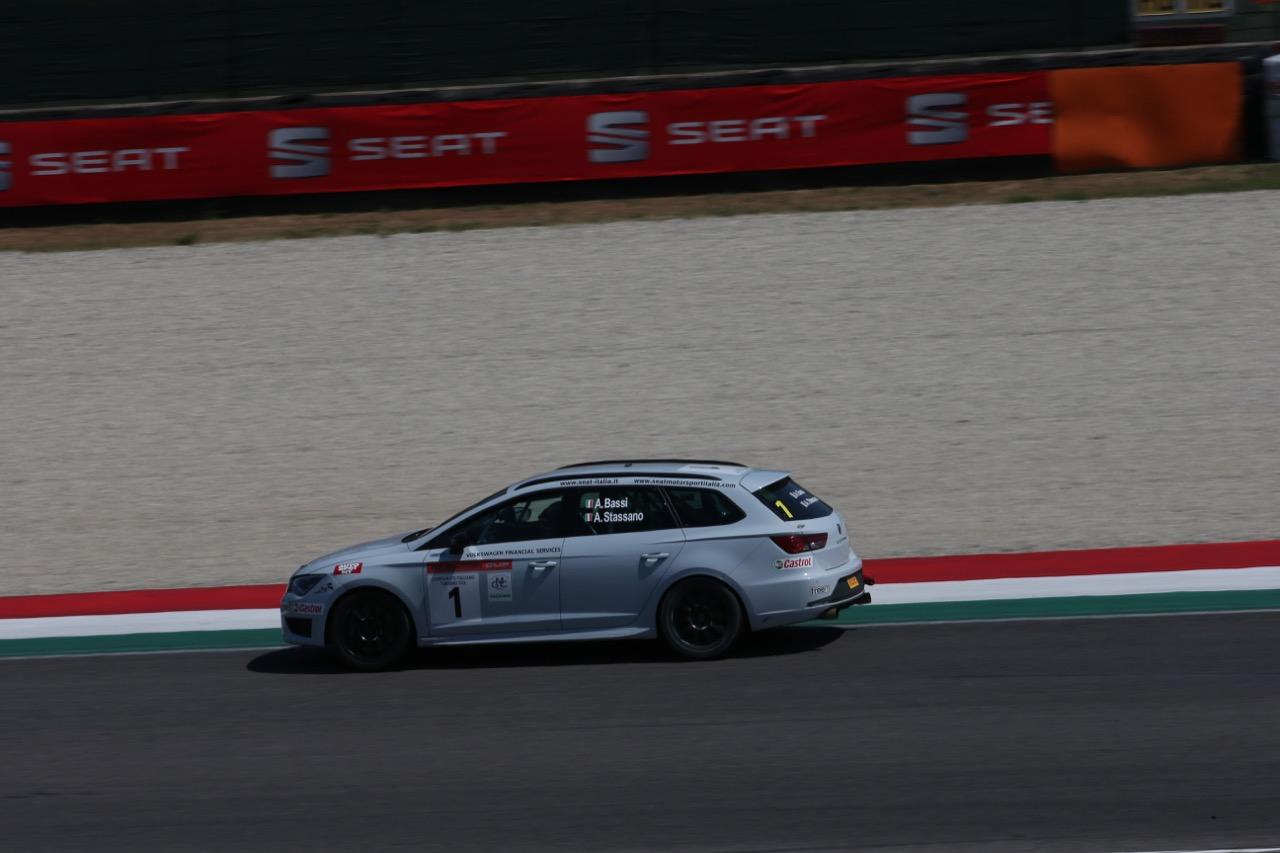 Bassi-Stassano (Seat Motor Sport Italia,Seat Leon Cupra ST-TCS2.0 #1)