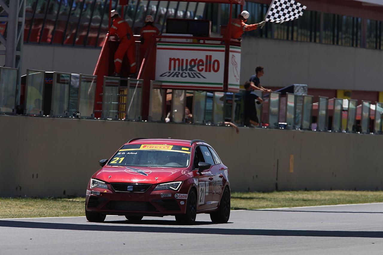 Giacomo Altoè (Seat Motor Sport Italia,Seat Leon Cupra ST-TCS2.0 #21)