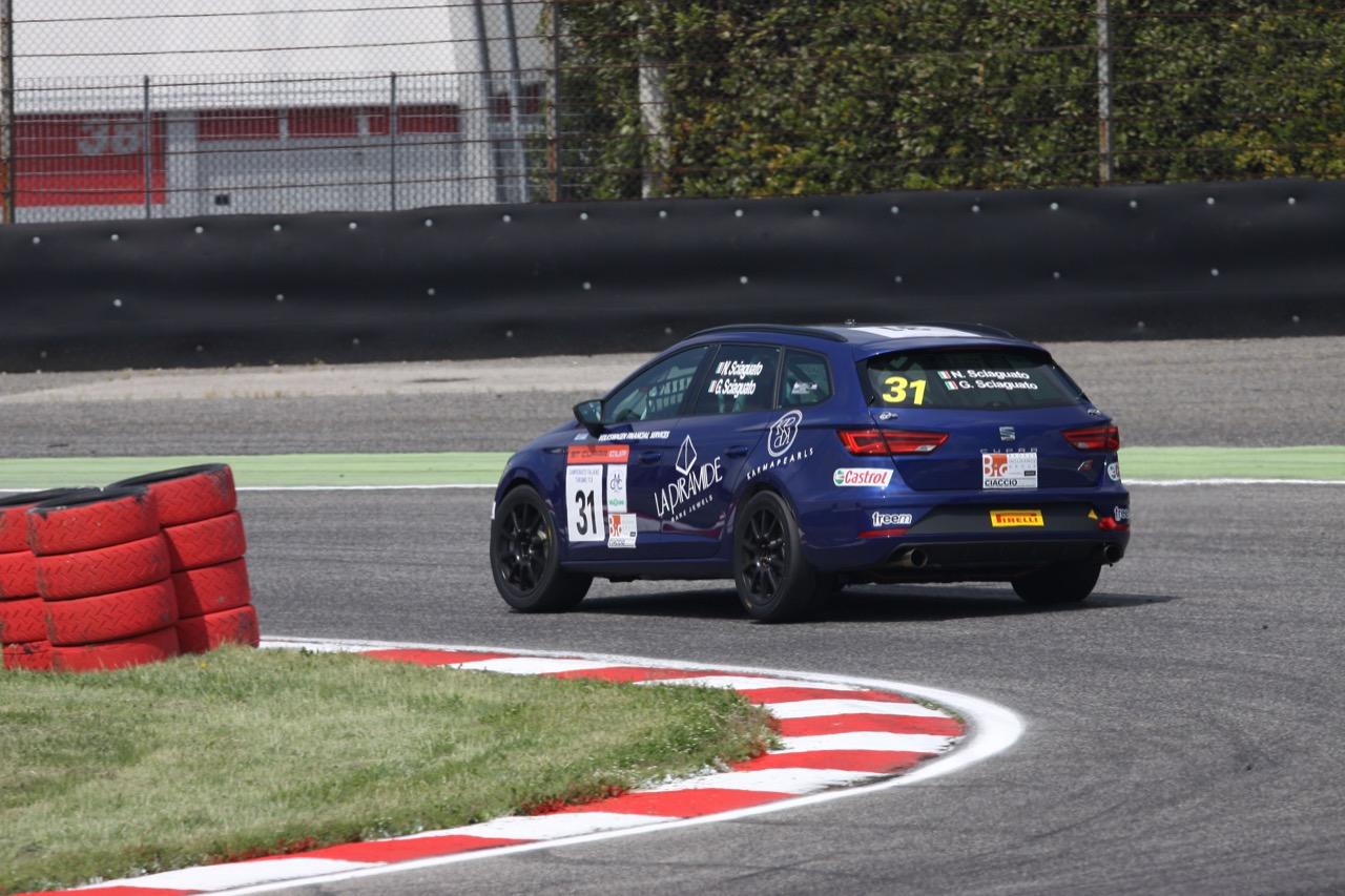 Sciaguato-Sciaguato (Seat Motor Sport Italia,Seat Leon Cupra ST-TCS2.0 #31)