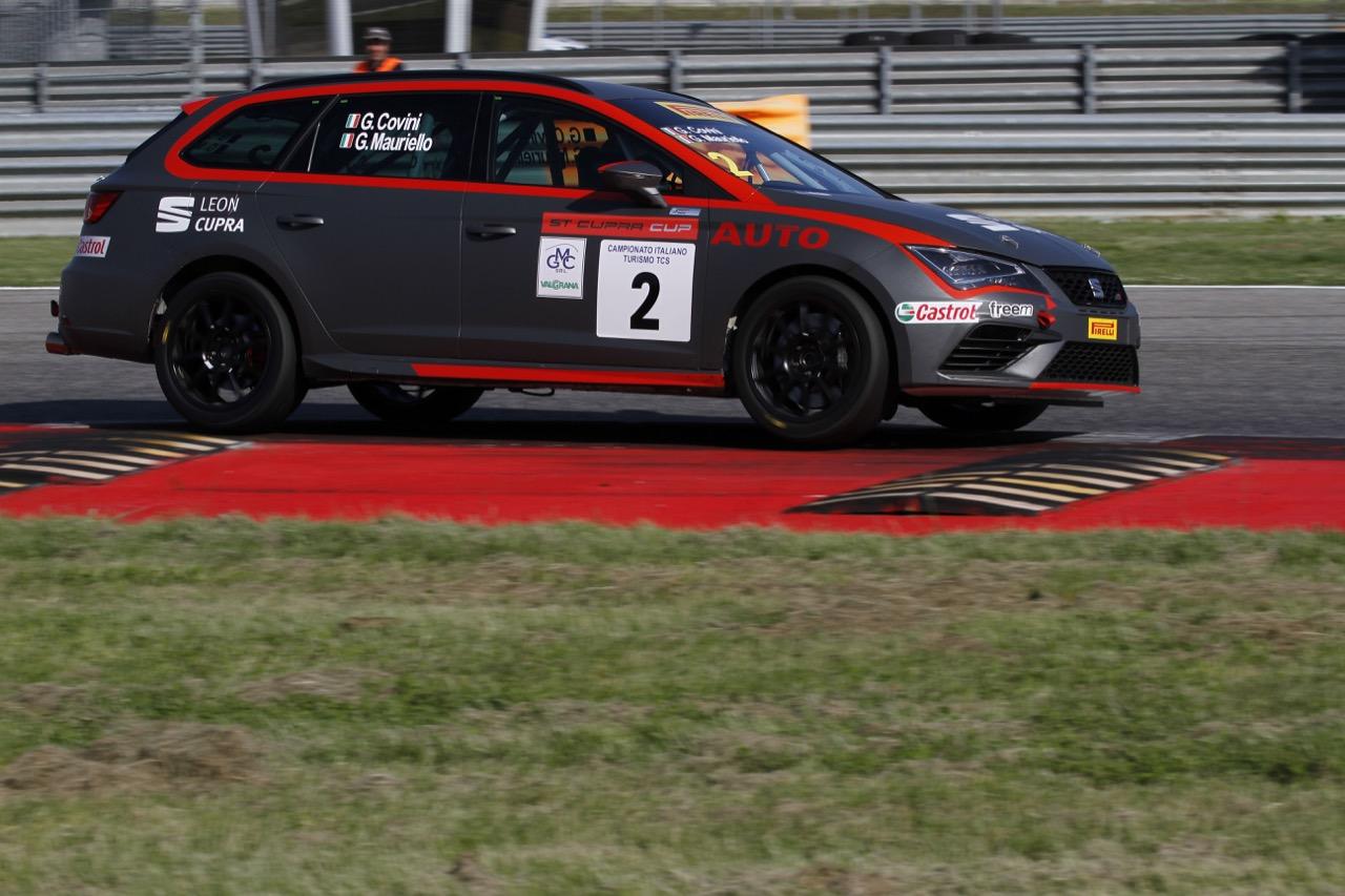 Covini-Mauriello (Seat Motor Sport Italia,Seat Leon Cupra ST-TCS2.0 #2)