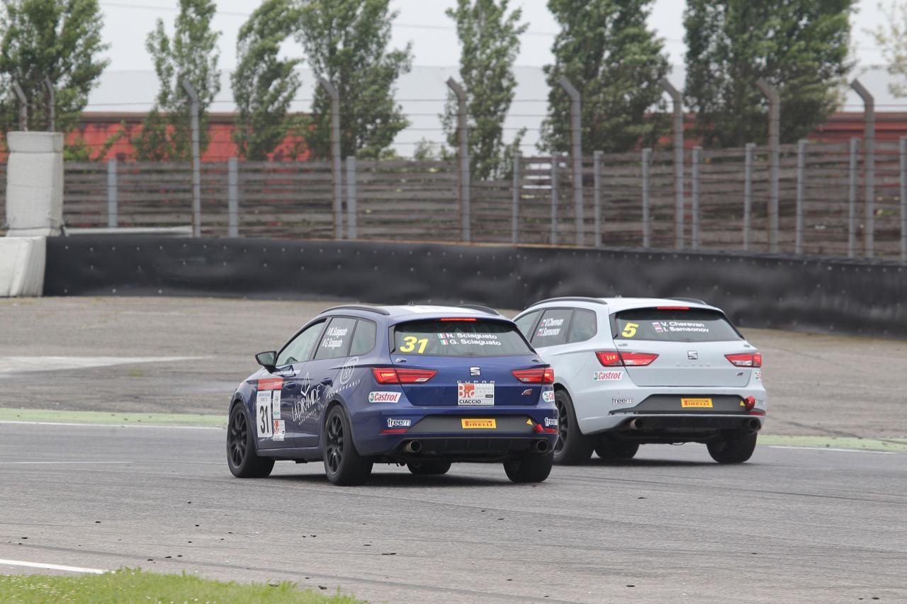 Cherevan-Samsonov (Seat Motor Sport Italia,Seat Leon Cupra ST-TCS2.0 #5)