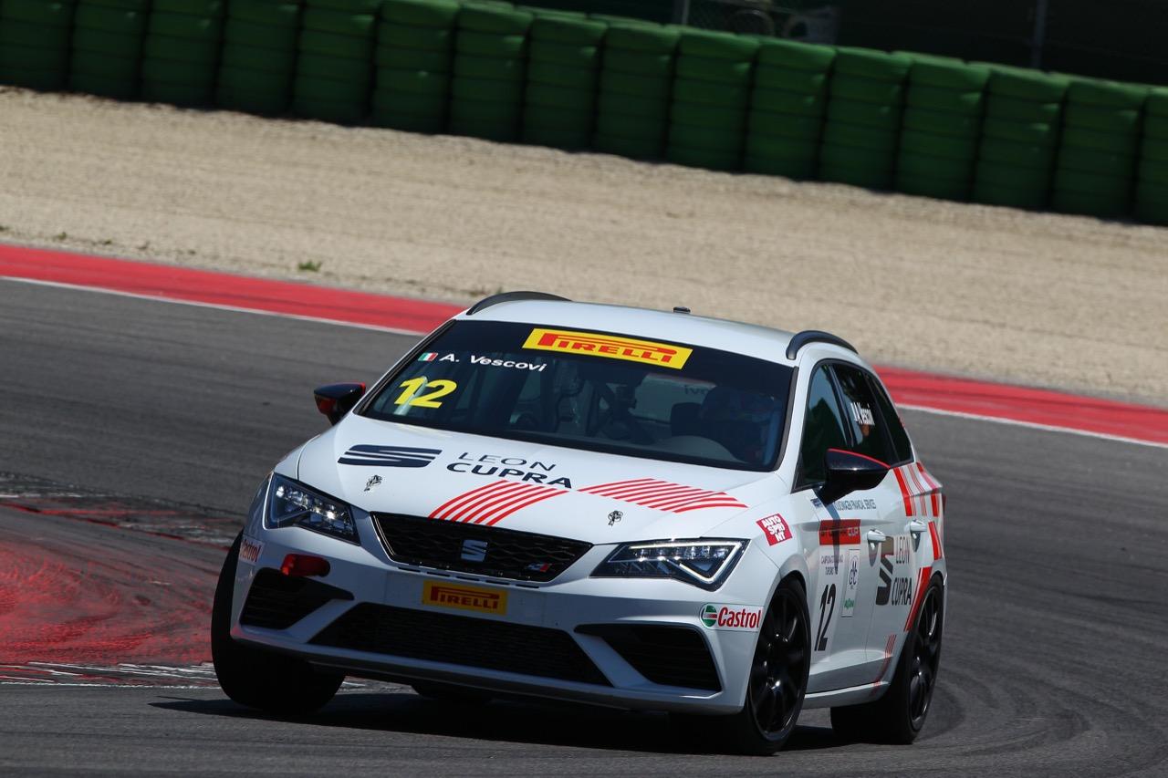 Alberto Vescovi (Seat Motor Sport Italia,Seat Leon Cupra ST-TCS2.0 #12)