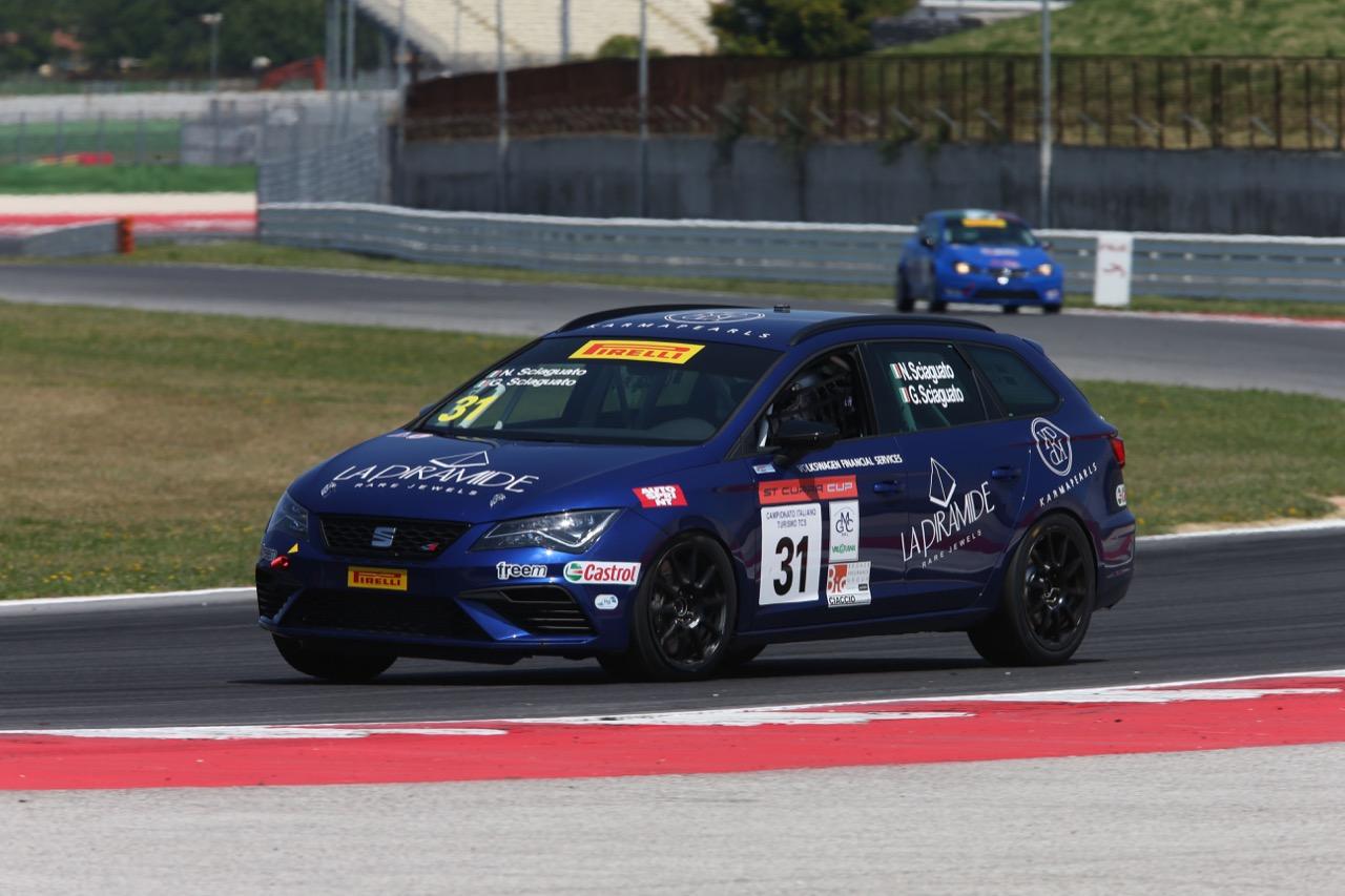 Guido Sciaguato (Seat Motor Sport Italia,Seat Leon Cupra ST-TCS2.0 #31)