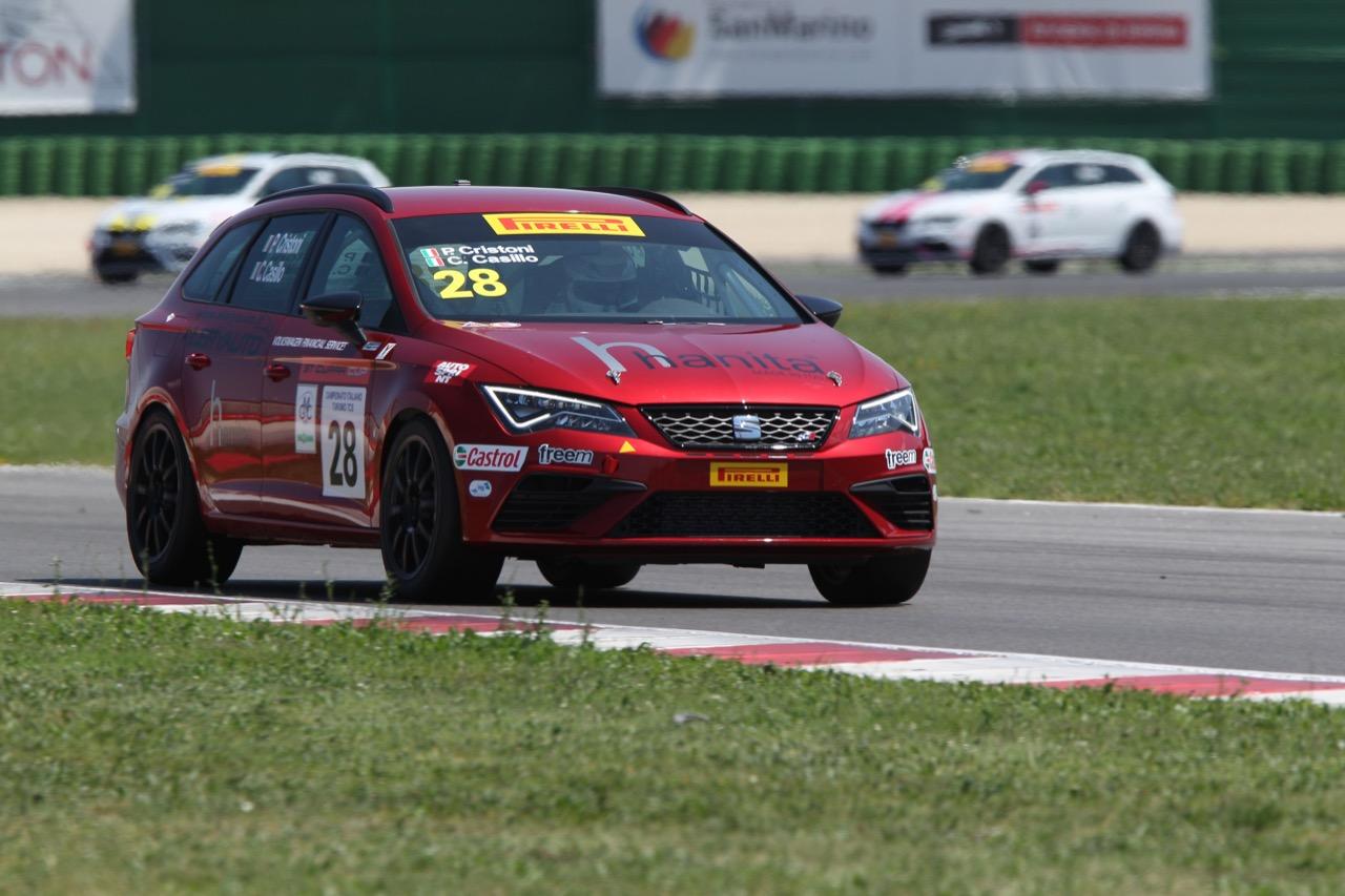 Cristoni-Casillo (Seat Motor Sport Italia,Seat Leon Cupra ST-TCS2.0 #28)