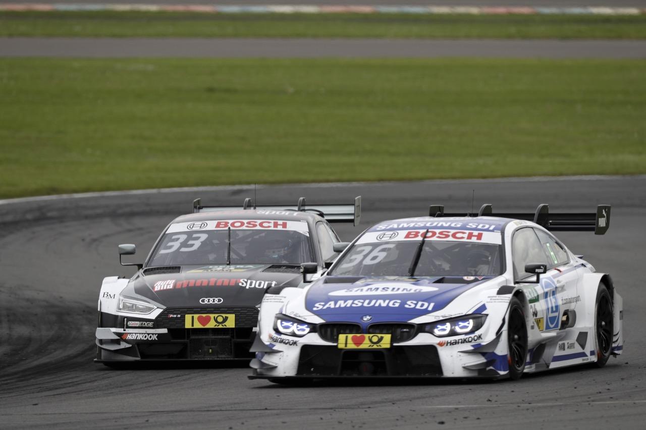 RenÈ Rast (GER) - Audi RS 5 DTM Audi Sport Team Rosberg Maxime Martin (BEL) - BMW M4 DTM BMW Team RBM 20.05.2017