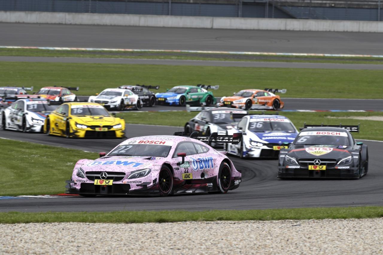 Start: Lucas Auer (AUT) - Mercedes-AMG C63 DTM Mercedes-AMG Motorport BWT 20.05.2017