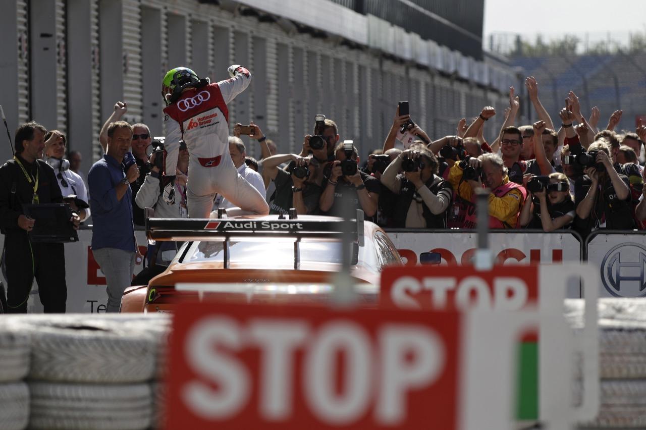 Jamie Green (GBR) - Audi RS 5 DTM Audi Sport Team Rosberg 21.05.2017