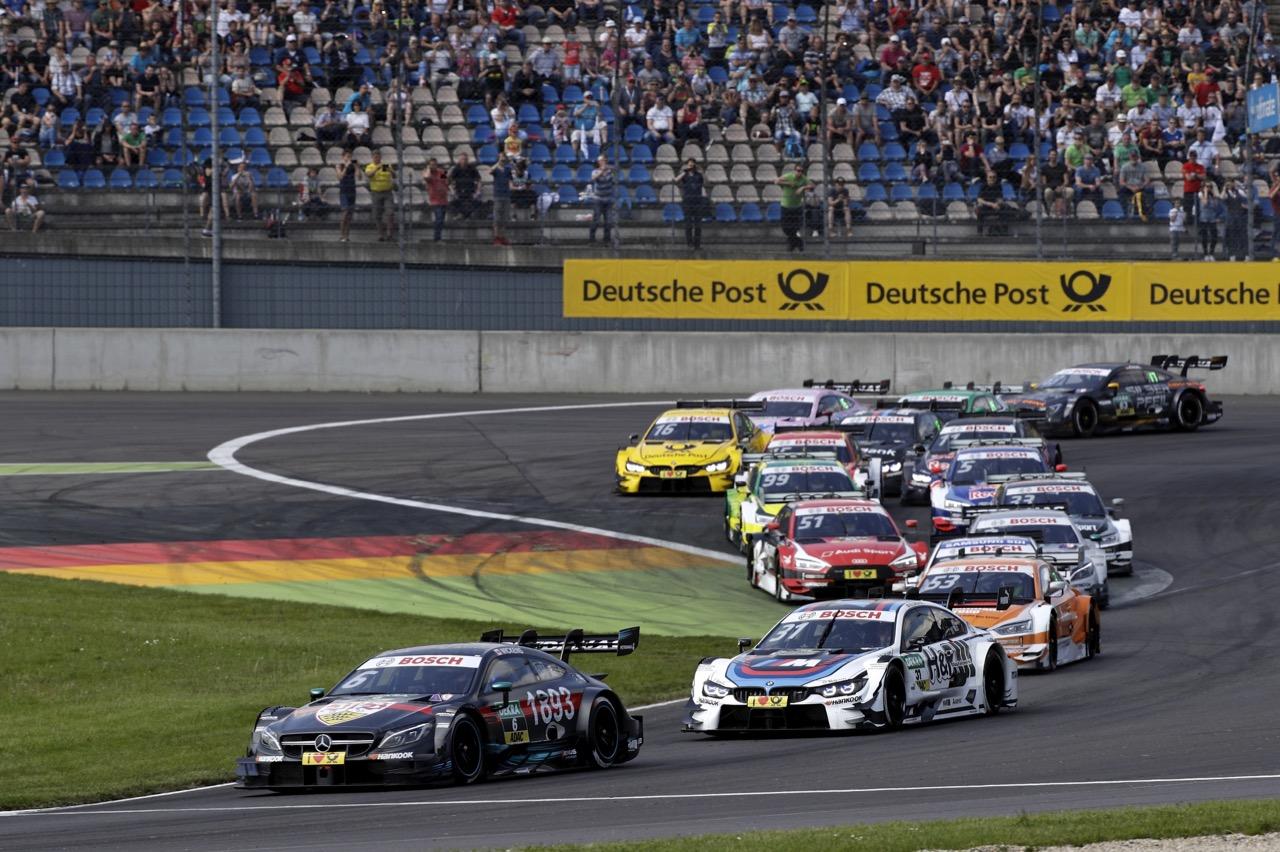 Start Race 2: Robert Wickens (CAN) - Mercedes-AMG C 63 DTM Mercedes-AMG Motorsport Mercedes me 21.05.2017
