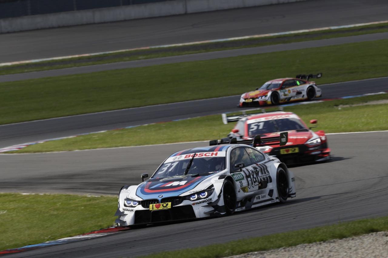 Tom Blomqvist (GBR) - BMW M4 DTM BMW Team RMR  21.05.2017