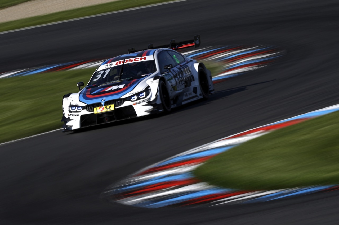 Tom Blomqvist (GBR) - BMW M4 DTM, BMW Team RMR  19.05.2017