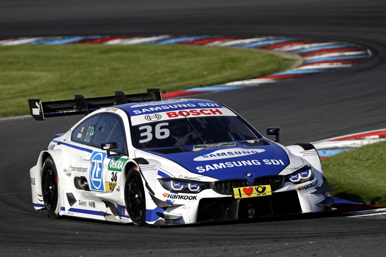 Maxime Martin (BEL) - BMW M4 DTM, BMW Team RBM 19.05.2017