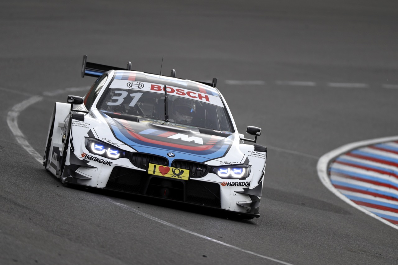 Tom Blomqvist (GBR) - BMW M4 DTM, BMW Team RMR  20.05.2017