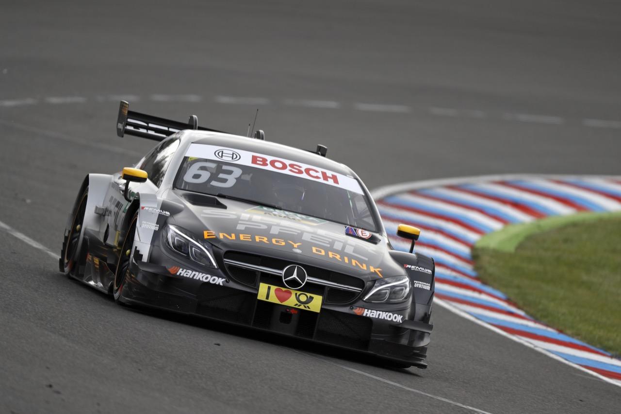 Maro Engel (GER) - Mercedes-AMG C 63 DTM, Mercedes-AMG Motorsport SILBERPFEIL Energy 20.05.2017