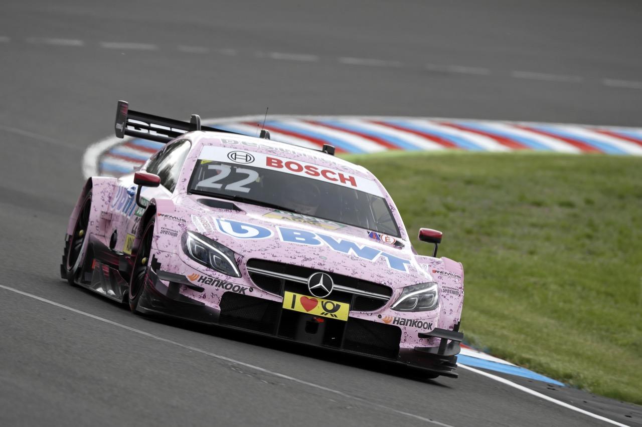 Lucas Auer (AUT) - Mercedes-AMG C63 DTM, Mercedes-AMG Motorport BWT 20.05.2017