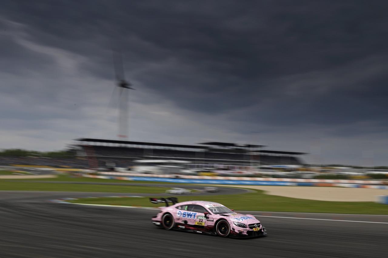 Lucas Auer (AUT) - Mercedes-AMG C63 DTM Mercedes-AMG Motorport BWT 20.05.2017