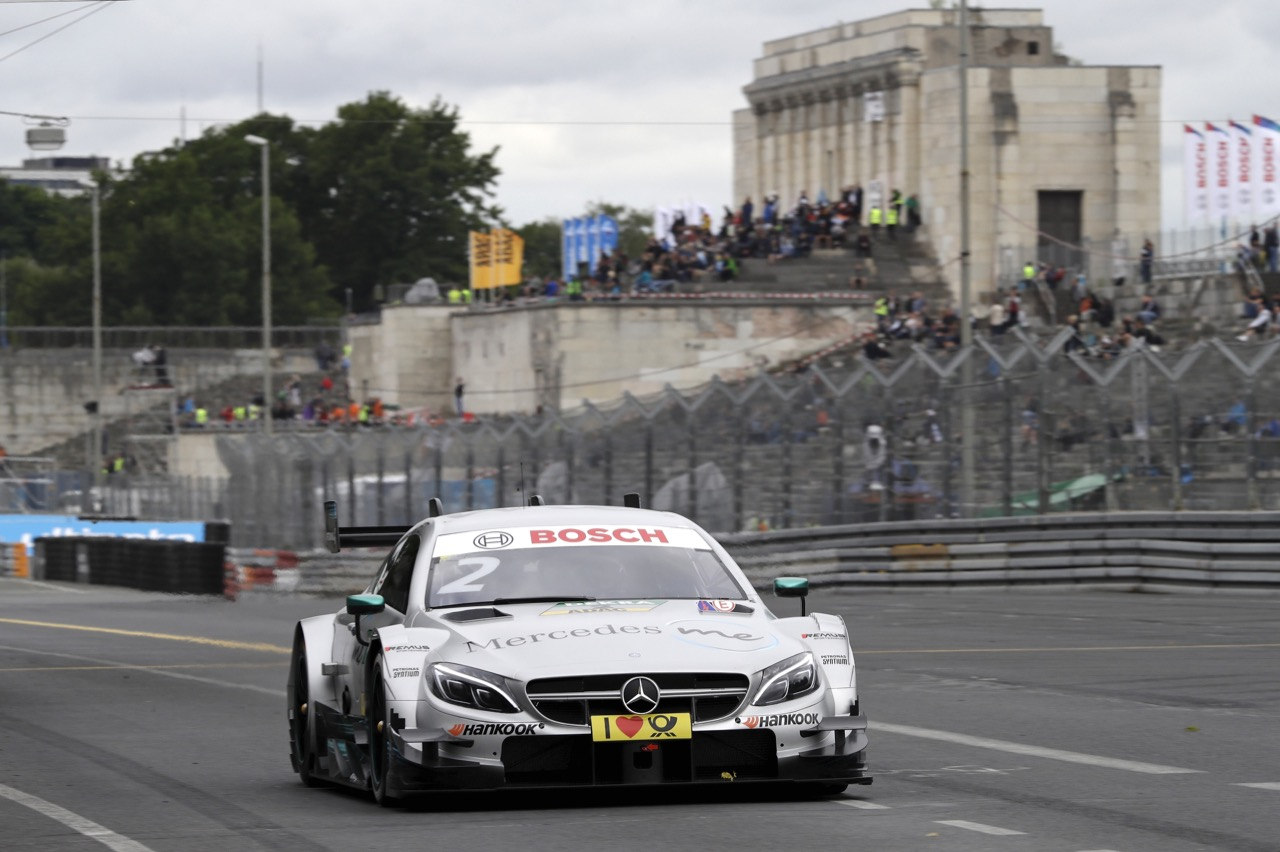 Gary Paffett (GBR) - Mercedes-AMG C63 DTM Mercedes-AMG Motorsport Mercedes me 01.07.2017