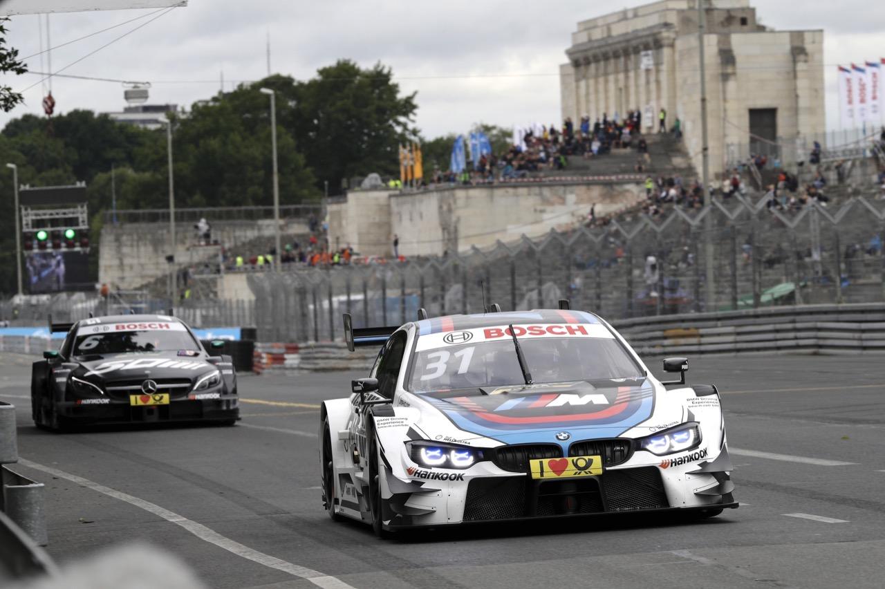 Tom Blomqvist (GBR) - BMW M4 DTM BMW Team RMR  01.07.2017