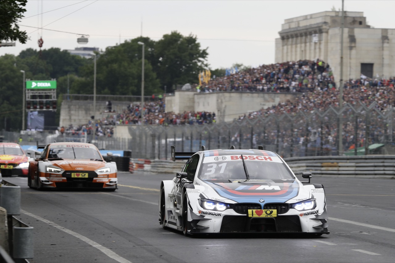 Tom Blomqvist (GBR) - BMW M4 DTM BMW Team RMR  02.07.2017