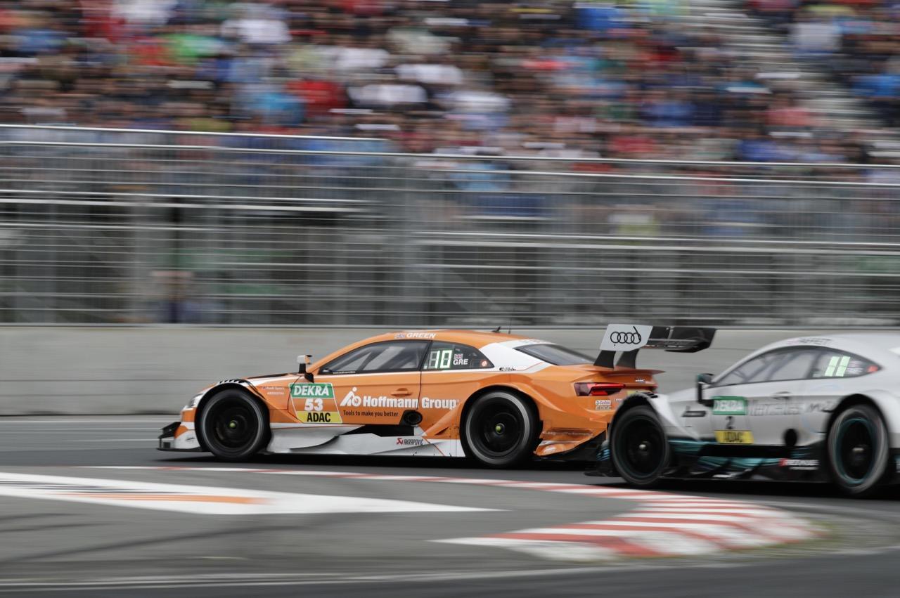 Jamie Green (GBR) - Audi RS 5 DTM Audi Sport Team Rosberg 02.07.2017