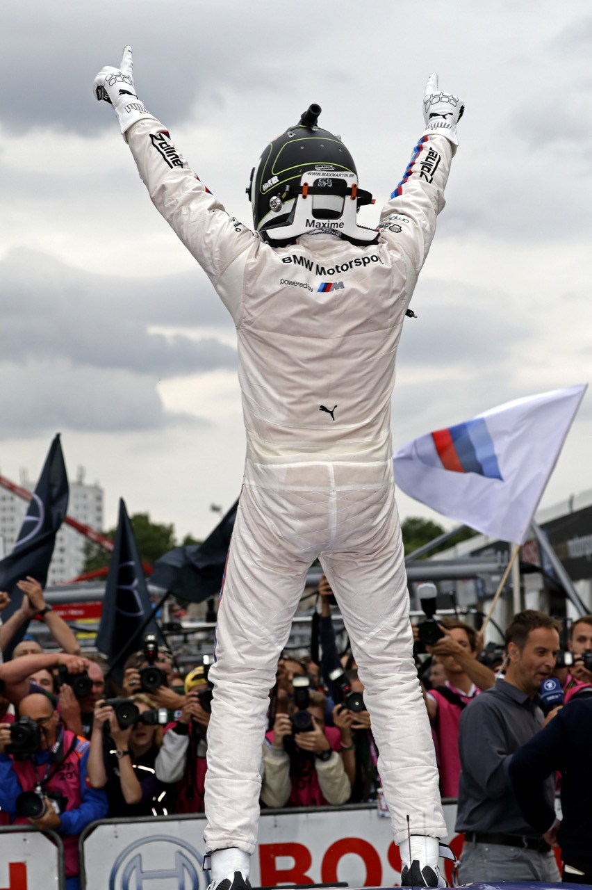 Maxime Martin (BEL) - BMW M4 DTM BMW Team RBM 02.07.2017
