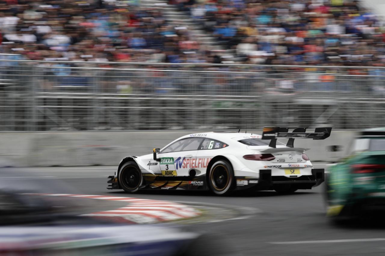 Paul Di Resta (GBR) - Mercedes-AMG C63 DTM Mercedes-AMG Motorsport SILBERPFEIL Energy 02.07.2017