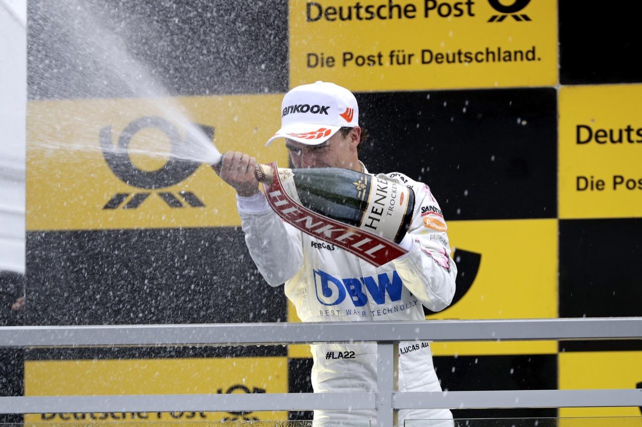 Lucas Auer (AUT) - Mercedes-AMG C63 DTM Mercedes-AMG Motorport BWT 02.07.2017