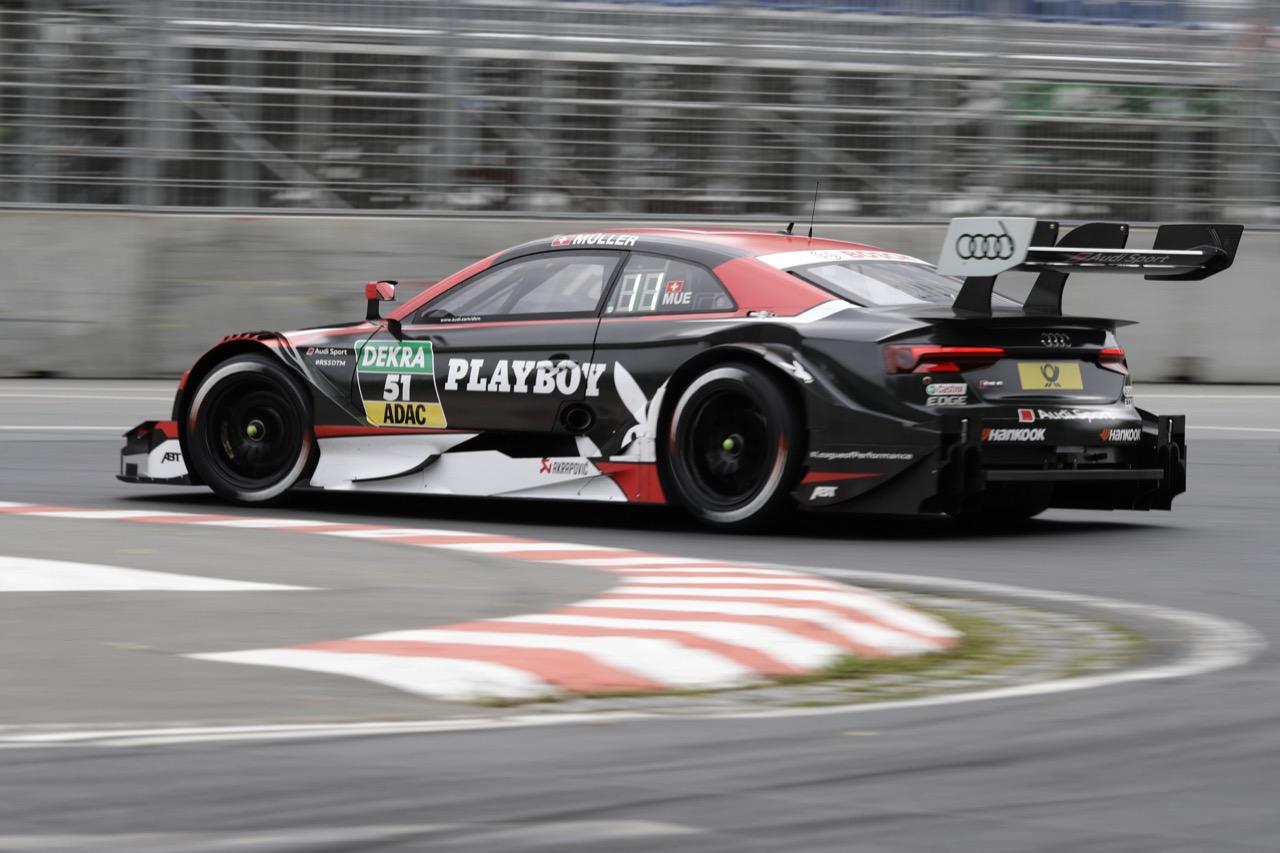 Nico Muller (SUI) - Audi RS 5 DTM Audi Sport Team Abt Sportsline 01.07.2017