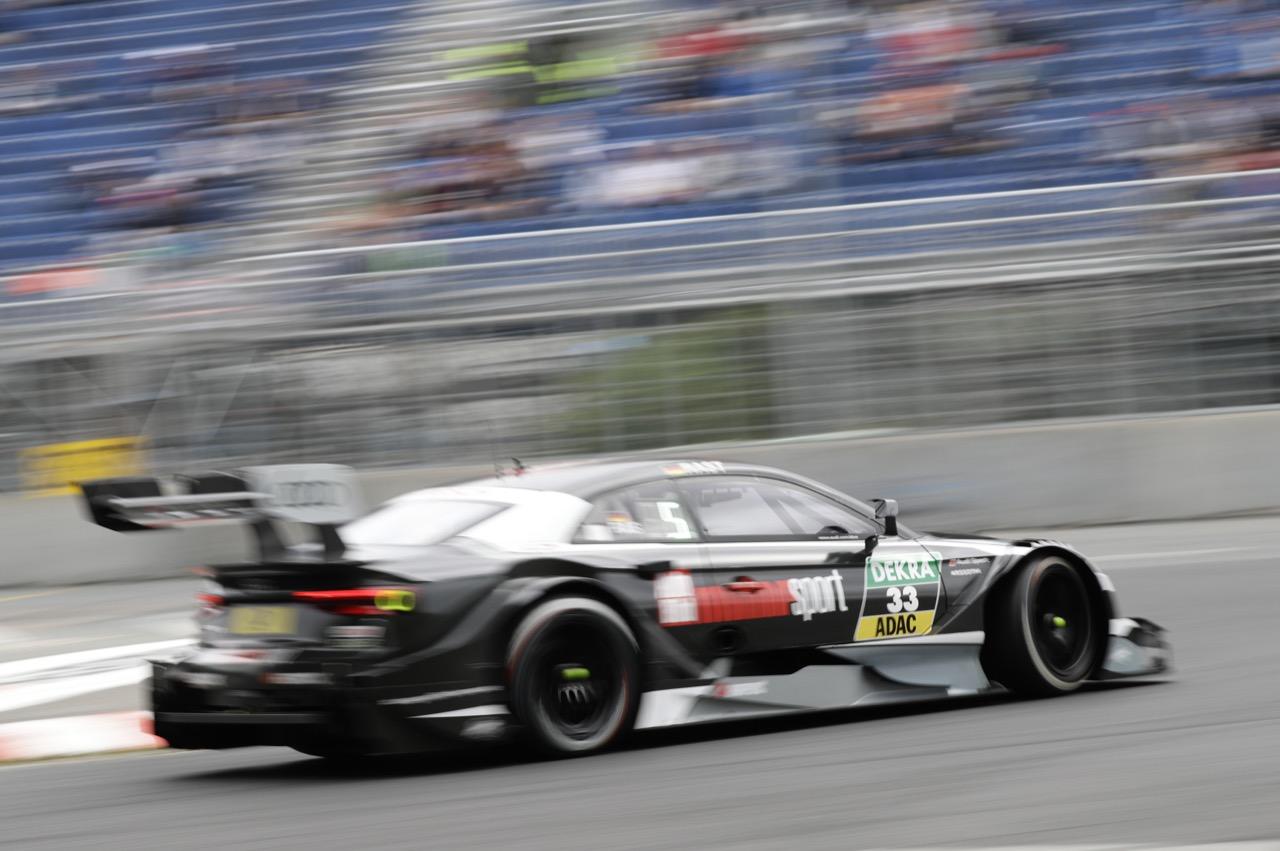 RenÈ Rast (GER) - Audi RS 5 DTM Audi Sport Team Rosberg 01.07.2017