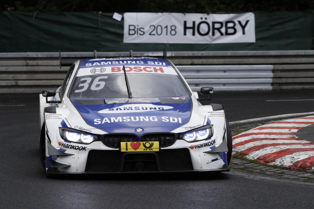 Maxime Martin (BEL) - BMW M4 DTM BMW Team RBM 01.07.2017