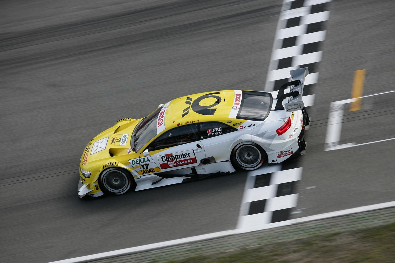 Rahel Frey (SUI) Audi Sport Team Abt Audi A5 DTM 28.04.2012. DTM Round 1, Saturday, Hockenheim, Germany