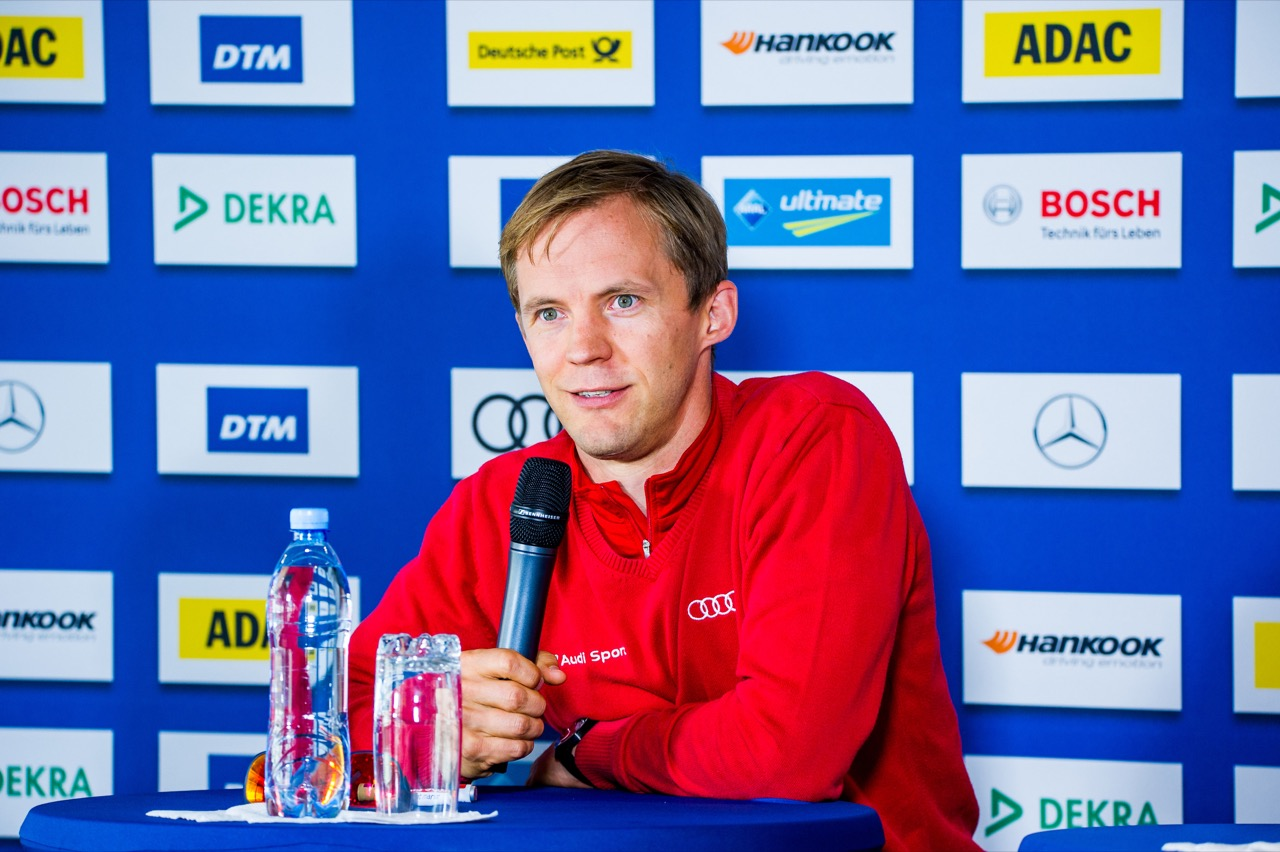 Mattias Ekstrom (SWE) Audi Sport Team Abt Sportsline, Audi A5 DTM 21.07.2017