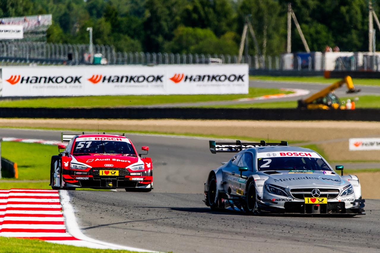 Gary Paffett (GBR) Mercedes-AMG Team HWA, Mercedes-AMG C63 DTM Nico Müller (SUI) Audi Sport Team Abt Sportsline, Audi RS 5 DTM 22.07.2017
