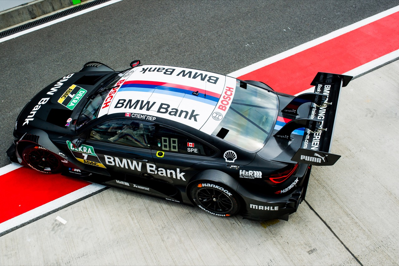 Bruno Spengler (CAN) BMW Team RBM, BMW M4 DTM 22.07.2017