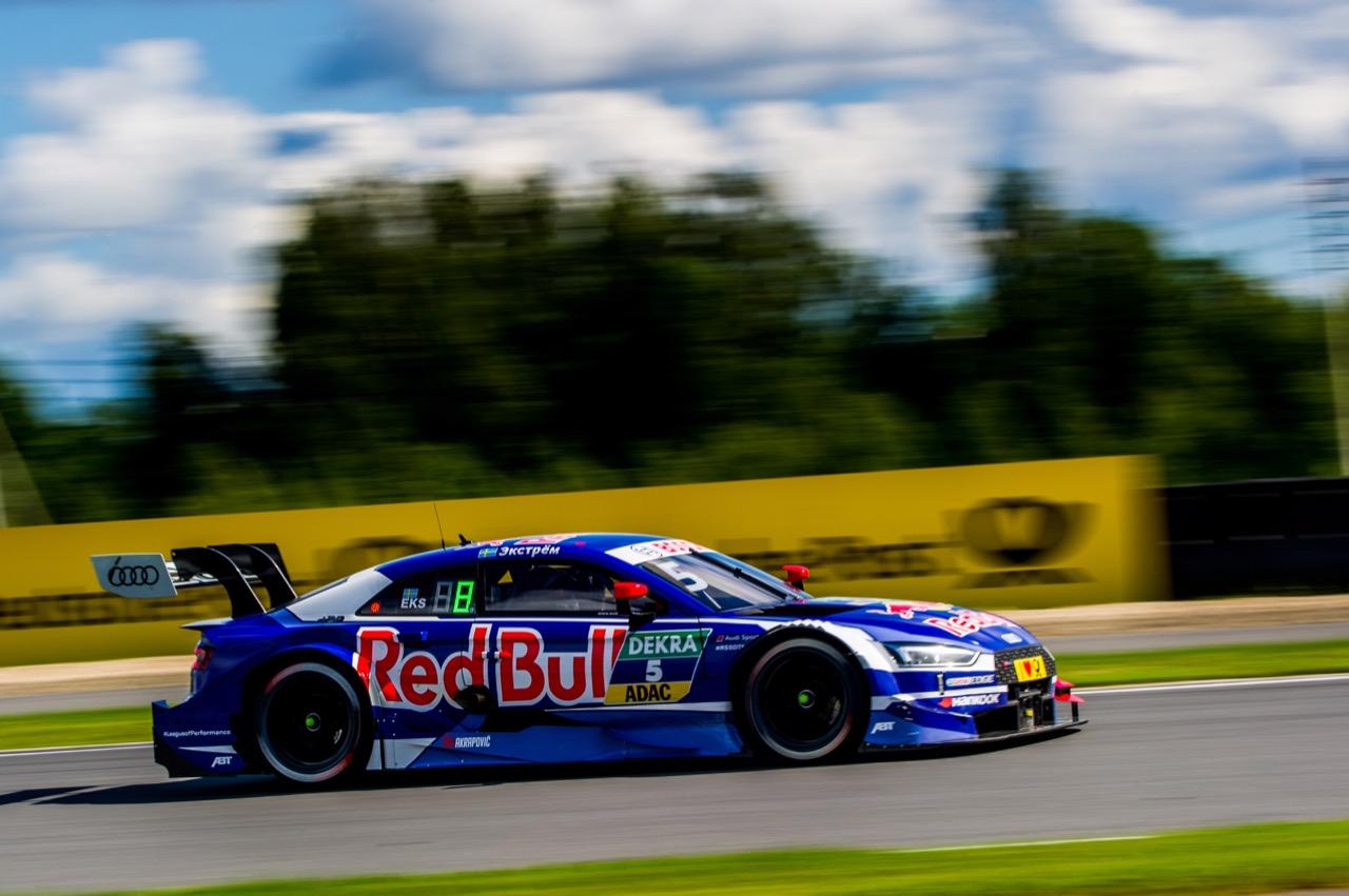 Mattias Ekström (SWE) Audi Sport Team Abt Sportsline, Audi A5 DTM 23.07.2017