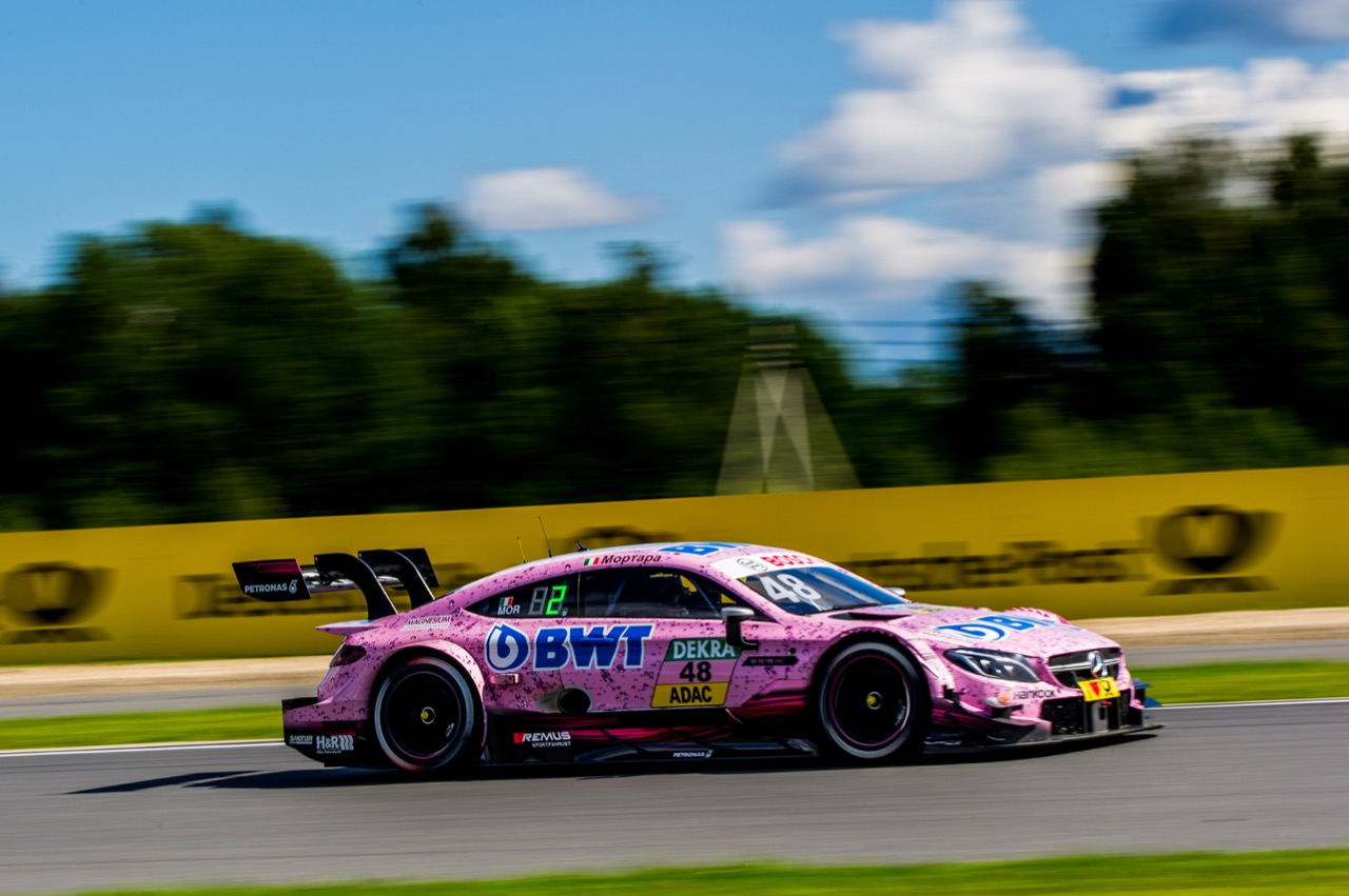 Edoardo Mortara (ITA) Mercedes-AMG Team HWA, Mercedes-AMG C63 DTM 23.07.2017