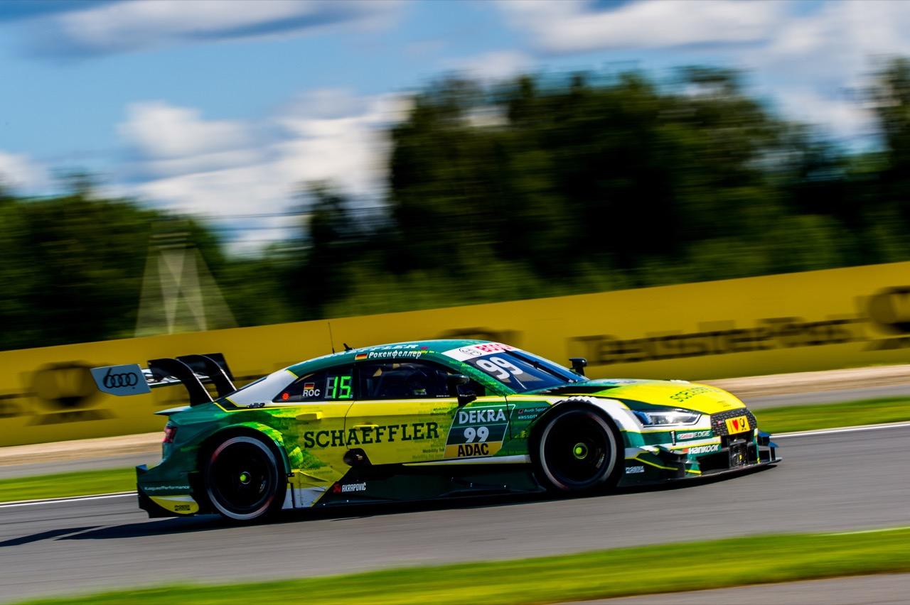 Mike Rockenfeller (GER) Audi Sport Team Phoenix, Audi RS 5 DTM 23.07.2017