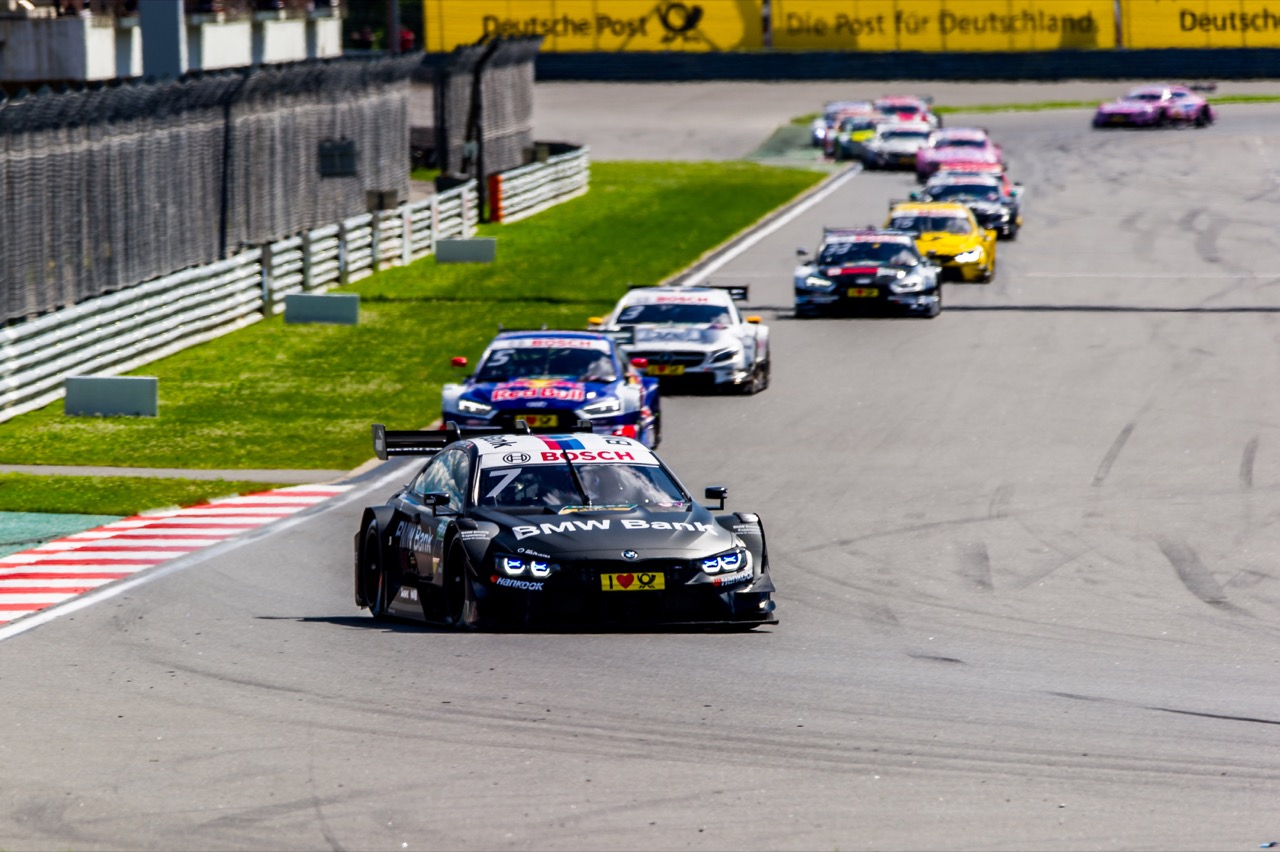 Bruno Spengler (CAN) BMW Team RBM, BMW M4 DTM 23.07.2017