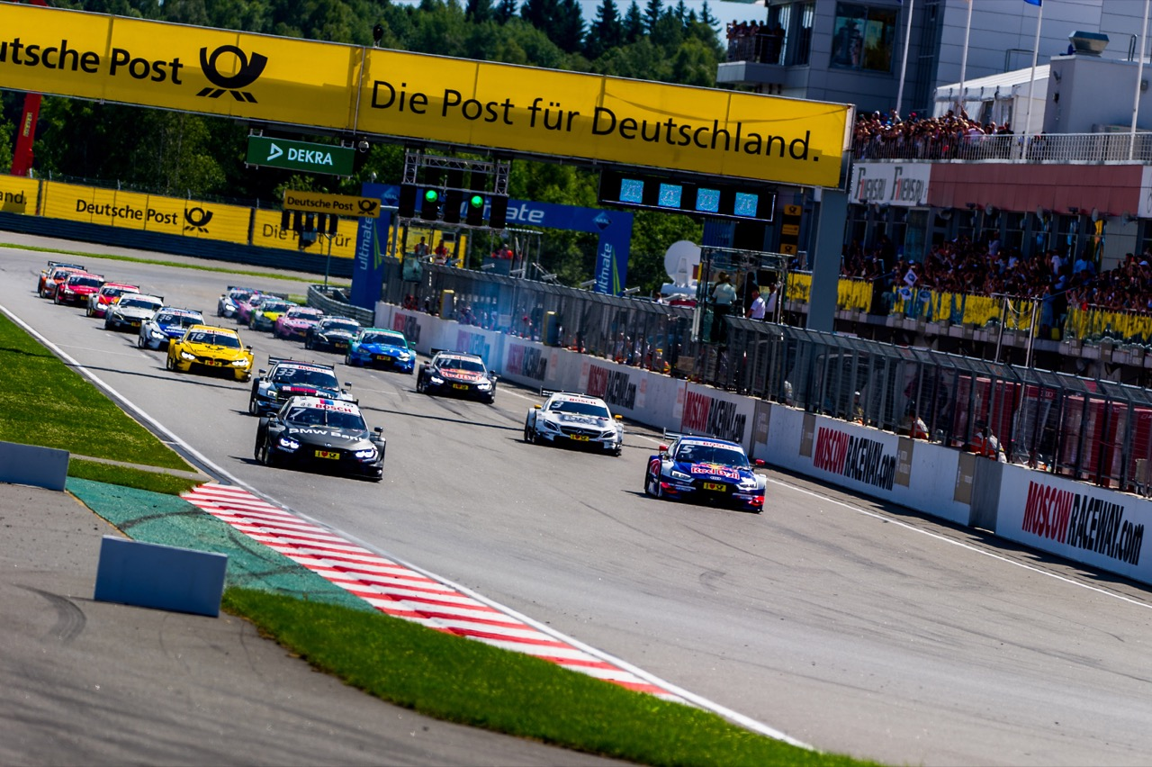 DTM start of the race 23.07.2017