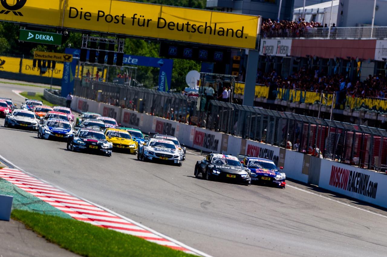 DTM start of the race 23.07.2017