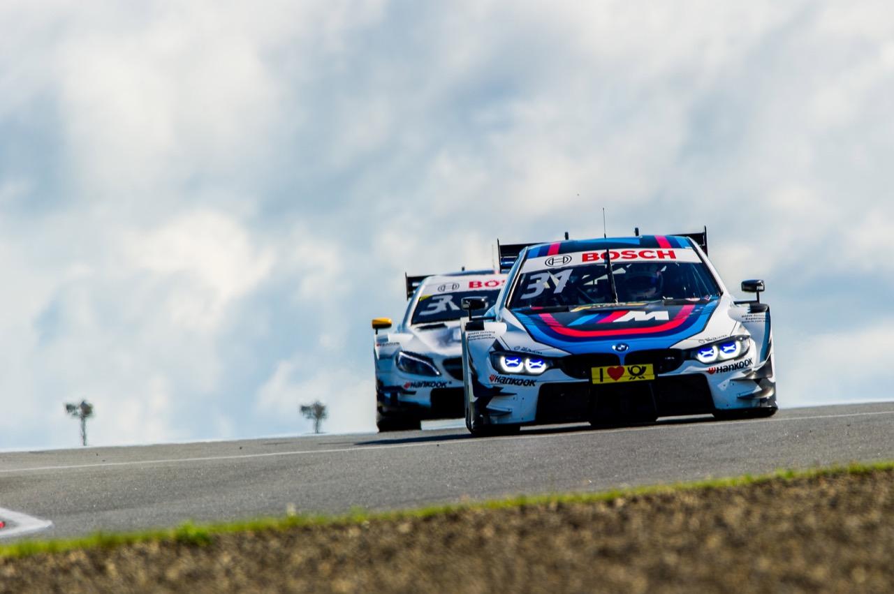 Tom Blomqvist (GBR) BMW Team RBM, BMW M4 DTM Paul Di Resta (GBR) Mercedes-AMG Team HWA, Mercedes-AMG C63 DTM 23.07.2017