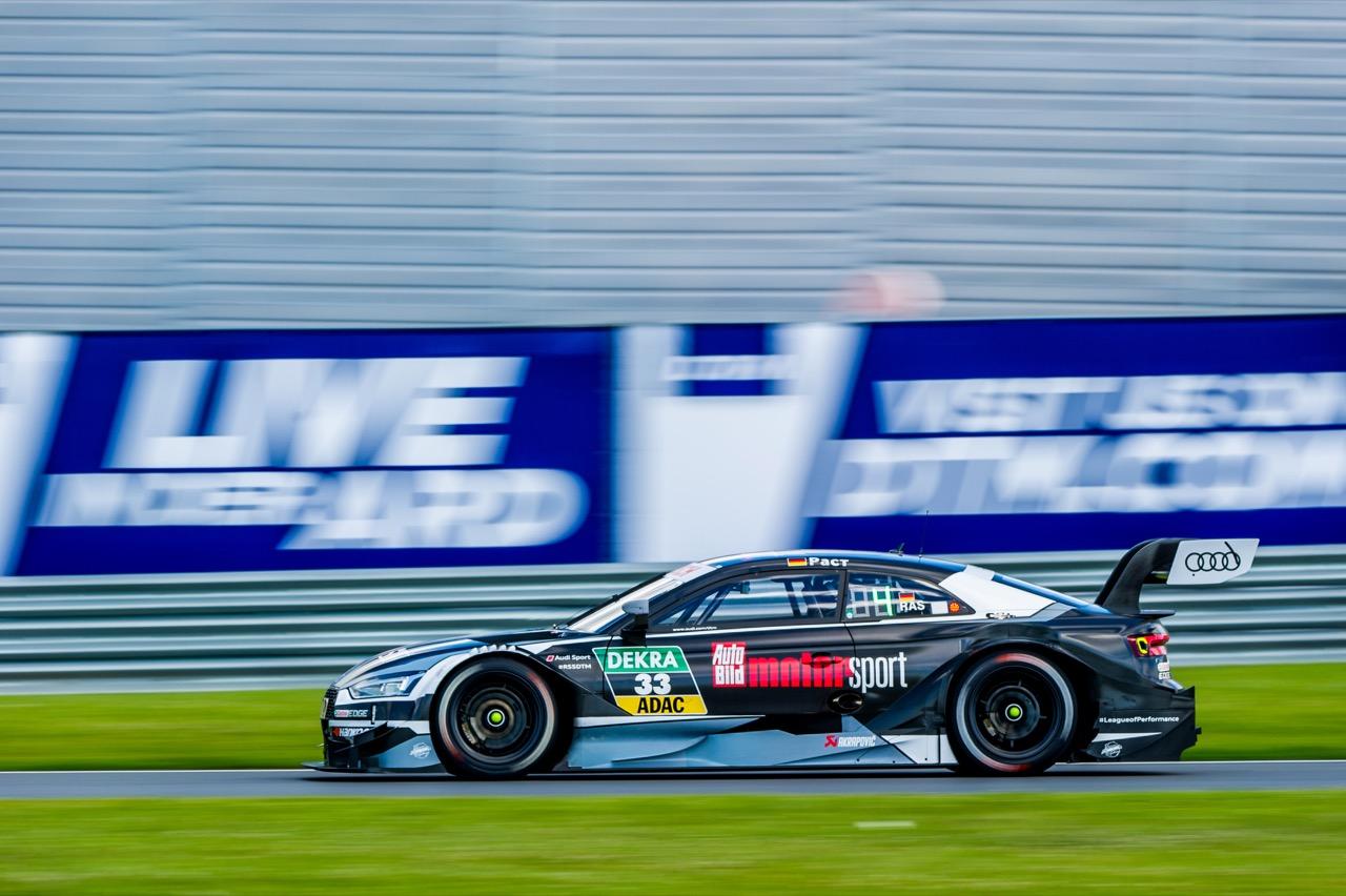 René Rast (GER) Audi Sport Team Rosberg, Audi RS 5 DTM 23.07.2017