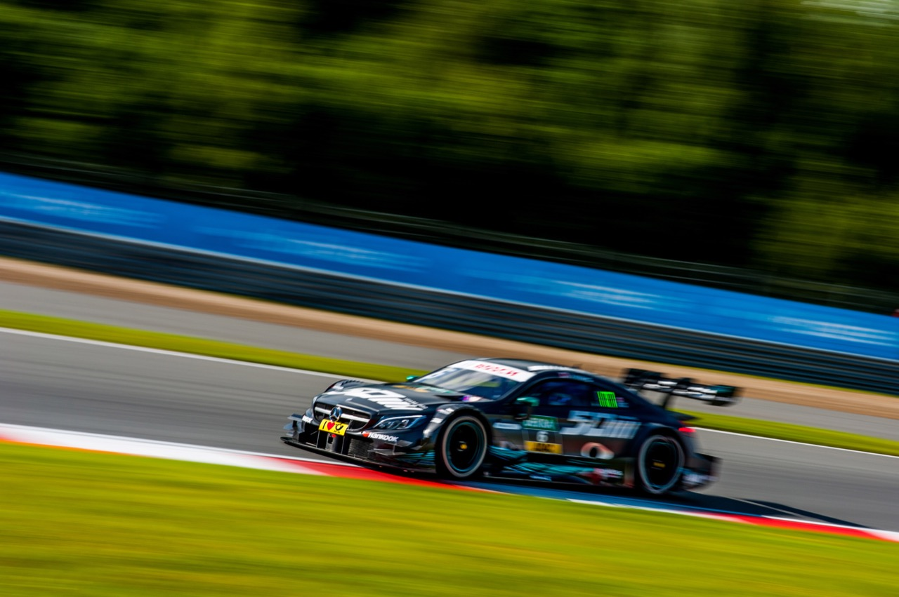 Robert Wickens (CAN) Mercedes-AMG Team HWA, Mercedes-AMG C63 DTM 21.07.2017
